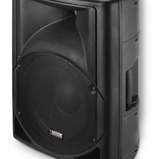 Caja activa 15'' Novik Evo 300A USB