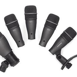 Set de micrófonos para batería Samson DK705