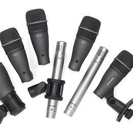 Set de micrófonos para batería Samson DK707