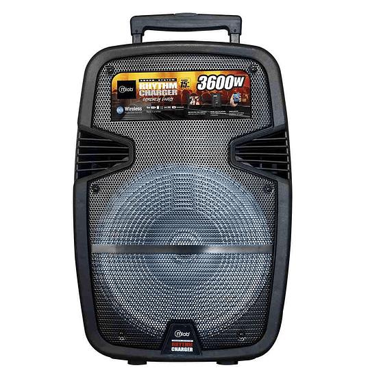 Parlante Portatil Karaoke MLab 7681 Rhythm Charger