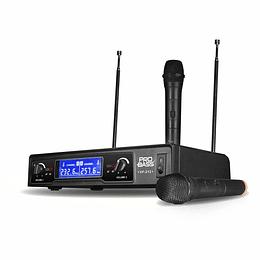 Microfono de Mano Doble Probass VF-212
