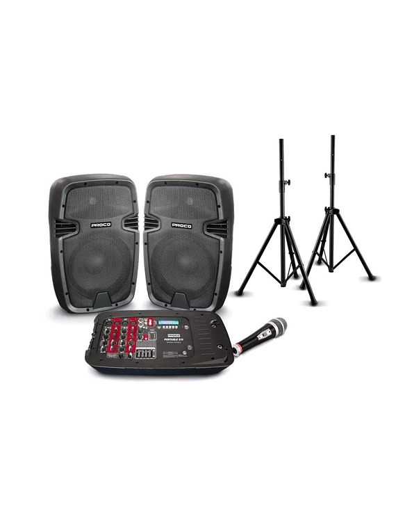 Set de Amplificacion Proco Portable 210