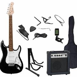 Set de Guitarra Electrica Scorpion 10 BK