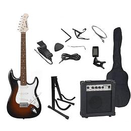 Set de Guitarra Electrica Scorpion 10 SB