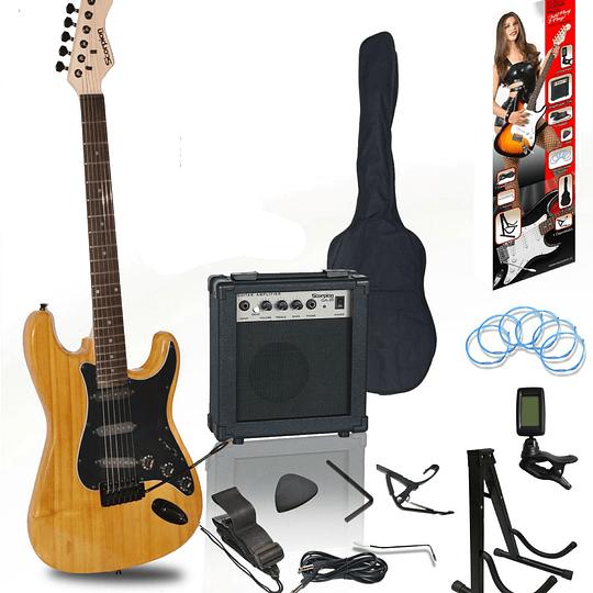 Set de Guitarra Electrica Scorpion 49NA/BK
