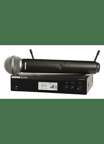 Microfono de Mano Shure BLX24R/SM58 GY
