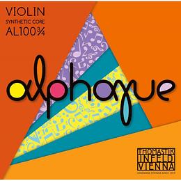 Cuerdas para Violin Thomastik Alphayue AL100 4/4