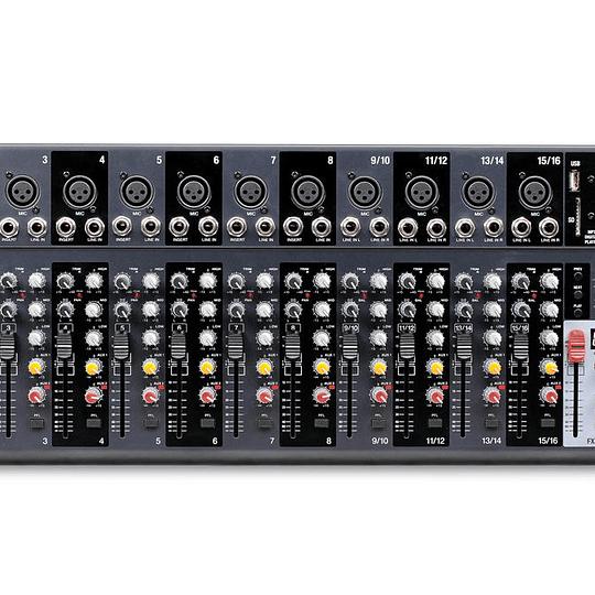 Mixer Analogo Novik NVK-1602FX