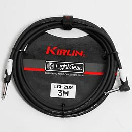Cable para Instrumento Kirlin LGI-202/BK 3M