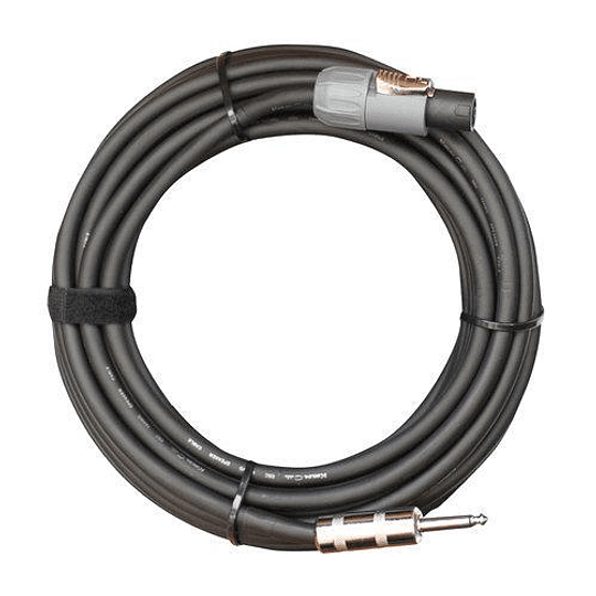 Cable Speakon-Plug 10 metros Kirlin SBCV-165-K 10M