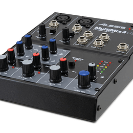 Mixer Amplificado Alesis MULTIMIX 4 USB FX