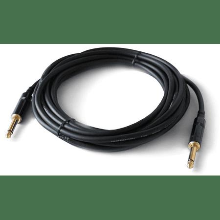 Cable de instrumento plug-plug 6.1m Neutrik NRA-0030-061