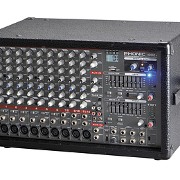 Mixer Amplificado Phonic POWERPOD 1082R BK