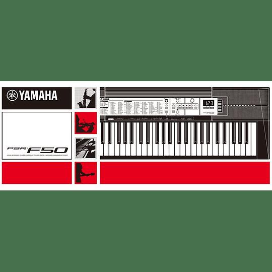 Teclado Yamaha PSR-F50
