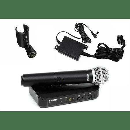 Microfono Inalambrico de mano Shure BLX24/PG58