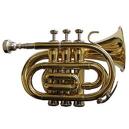 Trompeta Pocket Allegro ALL6417L