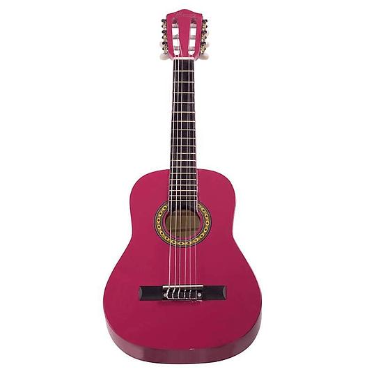 Guitarra Acústica para niño Mercury MGN01 Rosa