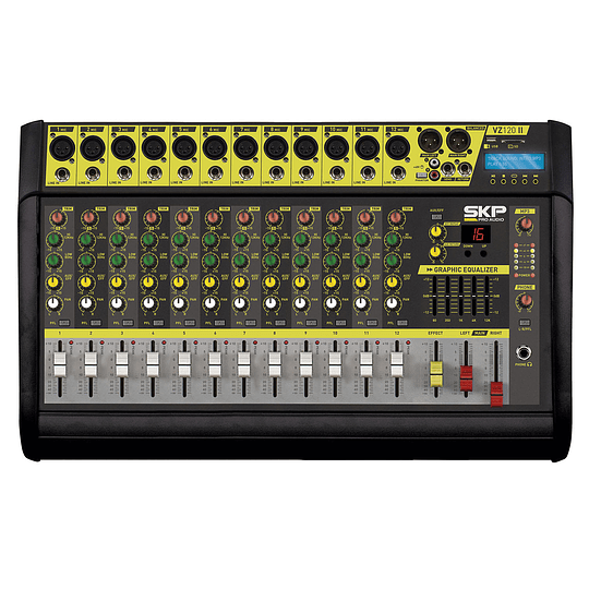 Cabezal Amplificado SKP VZ-120 II