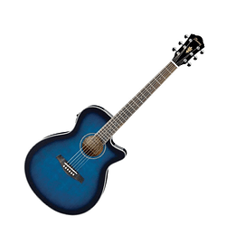Guitarra electroacústica Ibanez AEG8E TBS