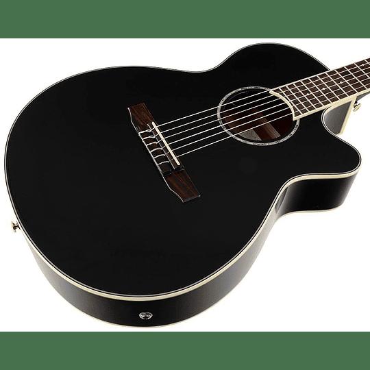 Guitarra electroacústica Ibanez AEG8E BK