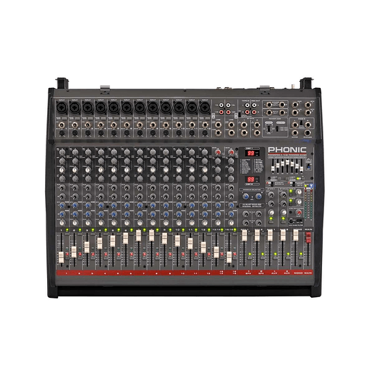 Mixer Amplificado Phonic Powerpod K-16