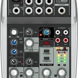 Mixer Analogo Behringer Xenyx Q502USB