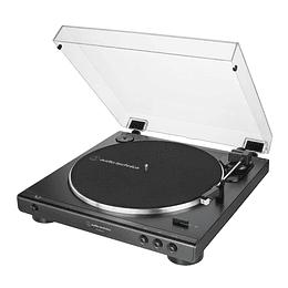 Tornamesa con USB Audiotechnica AT-LP60XUSB-BK