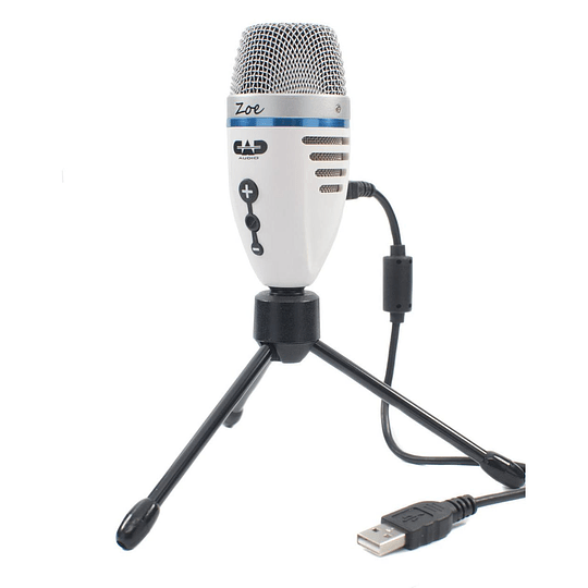 Micrófono Condensador USB Cad Audio Zoe