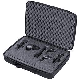 Kit de micrófonos de instrumento Shure PGAStudioKit4