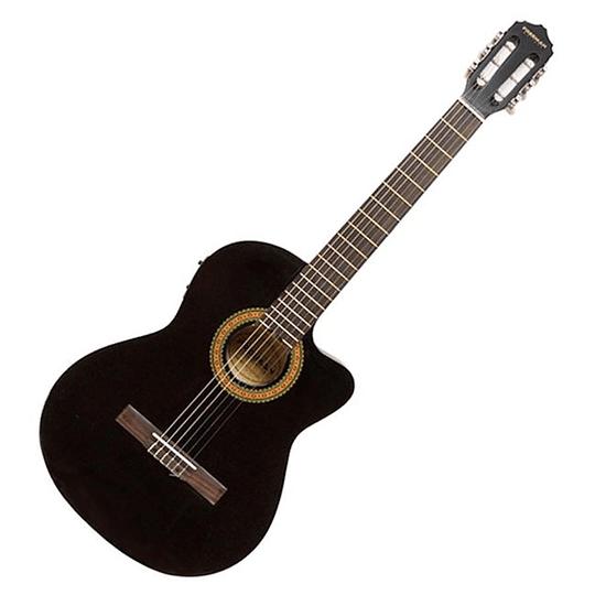 Guitarra electroacústica Freeman FRCG44CEQ BK