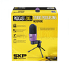 Microfono condensador 3,5mm SKP Podcast 200