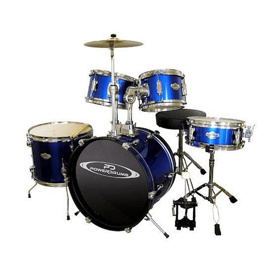 Batería para niño 5 piezas Power Drums PD-03 BL