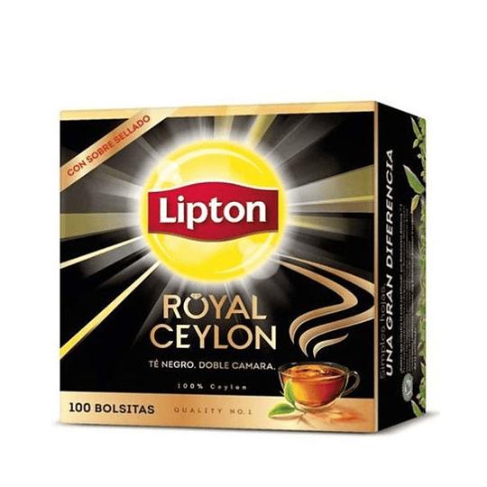 Té Lipton Black Label Caja de 100 bolsitas
