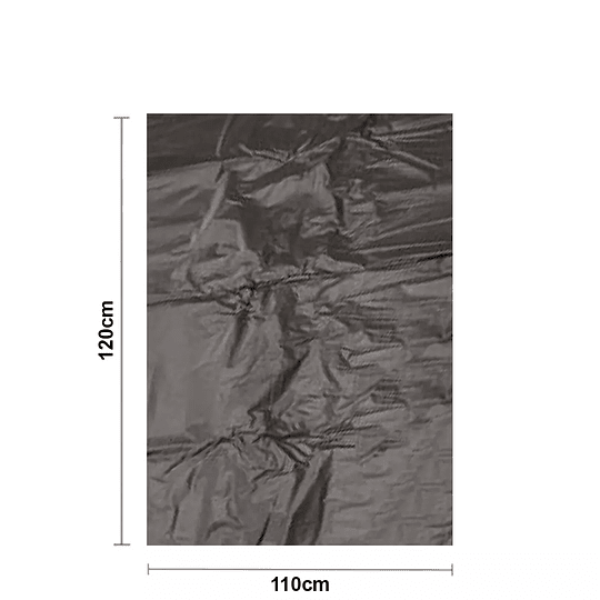 Bolsa Negra para Basura 110x120cm 0,007 micras