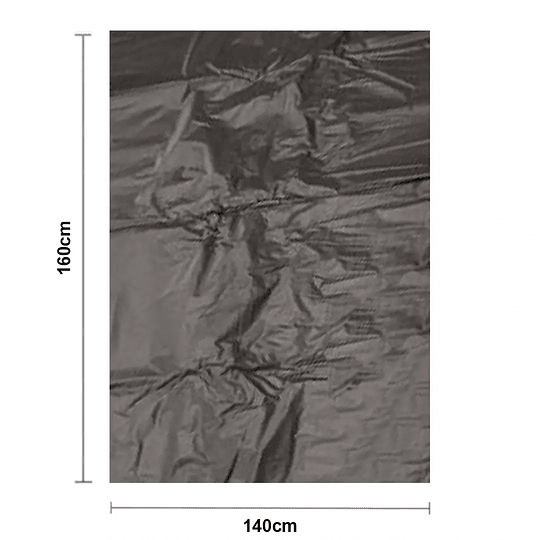 Bolsa Negra para Basura 140x160cm 0,008 micras
