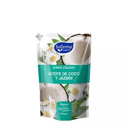 Jabón Líquido Aceite de Coco y Jazmín Ballerina 900ml