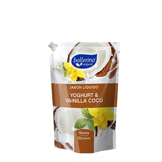 Jabón Líquido Yoghurt & Vainilla Coco Ballerina 900ml