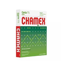 Resma Tamaño Carta Chamex 75g