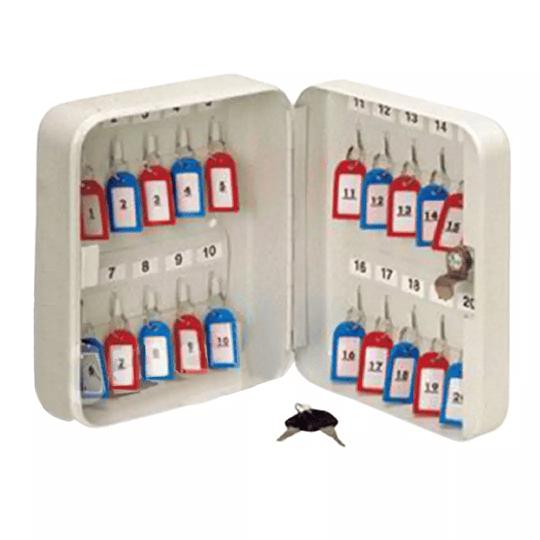 Caja Metálica para Administrar Hasta 20 Llaves BASH
