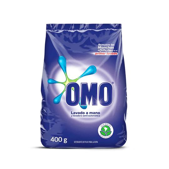 Detergente en Polvo Omo Lavado a Mano 400g