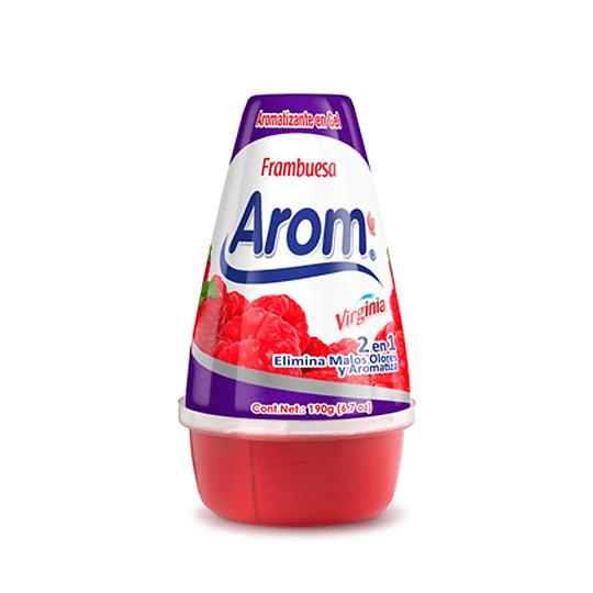 Gel Aromatizante en Cono Arom 190g Frambuesa