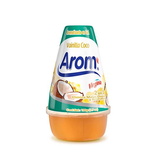 Gel Aromatizante en Cono Arom 190g Vainilla Coco