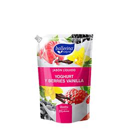 Jabón Líquido Yoghurt y Berries Vainilla Ballerina 900ml
