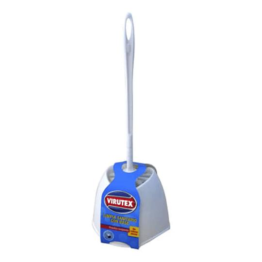 Cepillo Limpia Sanitario con Base Virutex