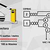 Detector Inductivo de Vehículos IDX 2 Entradas