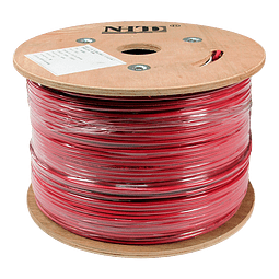 Cable Incendio 2x18 AWG Unifilar FPLR NHTD 305m