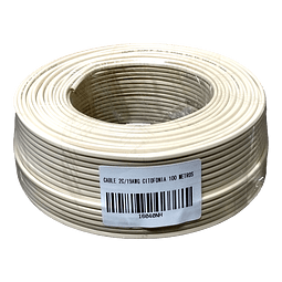 Cable Citofonía 2 Conductores 19AWG 100m