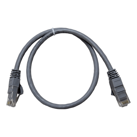 Patch Cord CAT 6 NHTD UTP Gris 0,5 m