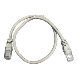 Patch Cord CAT 5E NHTD UTP Gris 0,5 m