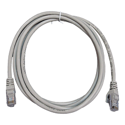 Patch Cord CAT 5E NHTD UTP Gris 2 m
